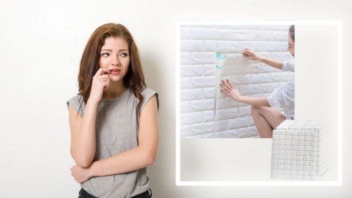 muro adesivo bianco
